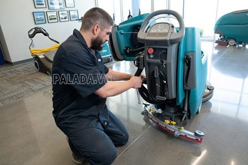 sửa máy chà sàn liên hợp tại Đặng Gia