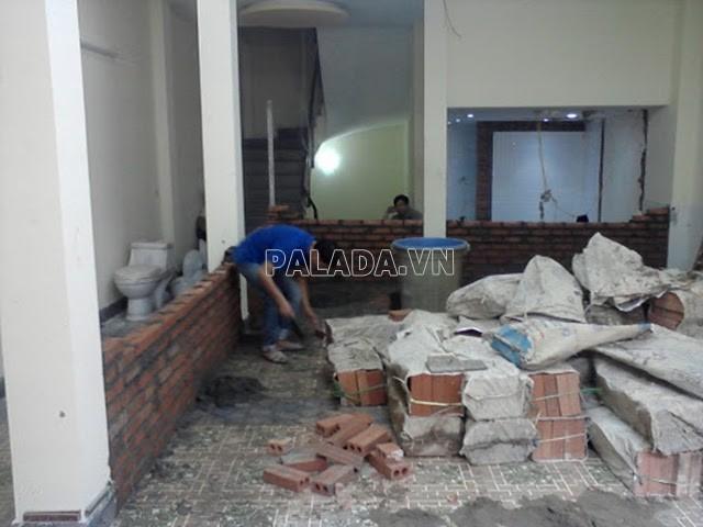 vệ sinh nhà cửa sau xây dựng