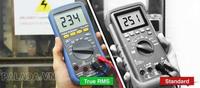 đo rms bằng ampe kìm