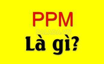 ppm là gì