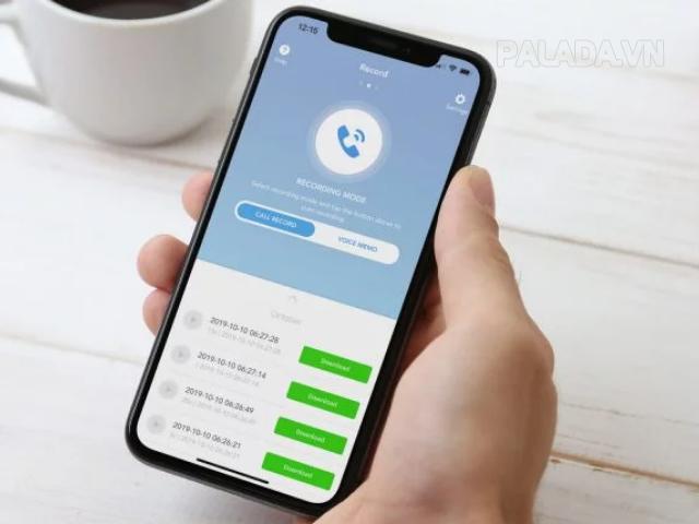 Các ứng dụng giúp ghi âm các cuộc gọi trên iphone 6 nhanh nhất