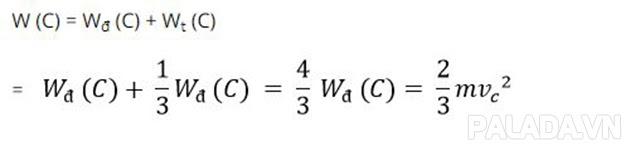 Công thức tính cơ năng tại C