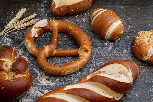 Những chiếc bánh Pretzel thơm ngon