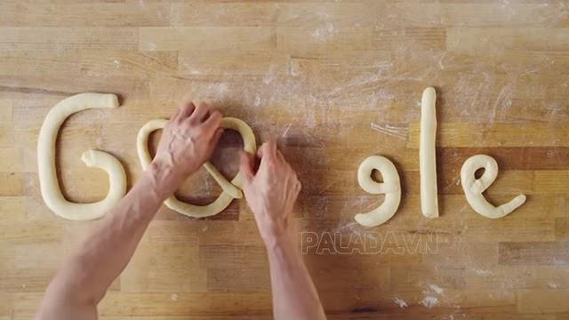 Bánh Pretzel được Google vinh danh