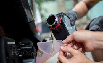 Thay dầu xe máy định kỳ