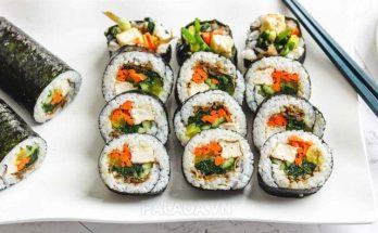 Cách làm Kimbap Hàn Quốc ngon