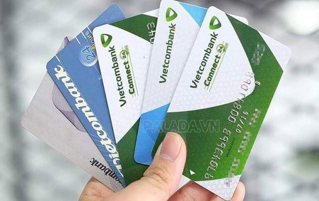 Các loại thẻ ngân hàng Vietcombank rất đa dạng