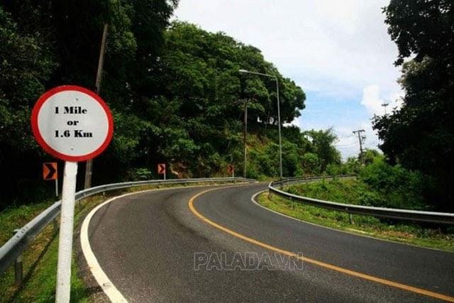 Quy đổi dặm sang km theo chuẩn quốc tế