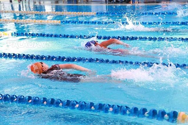 Đơn vị dặm được sử dụng trong bơi lội