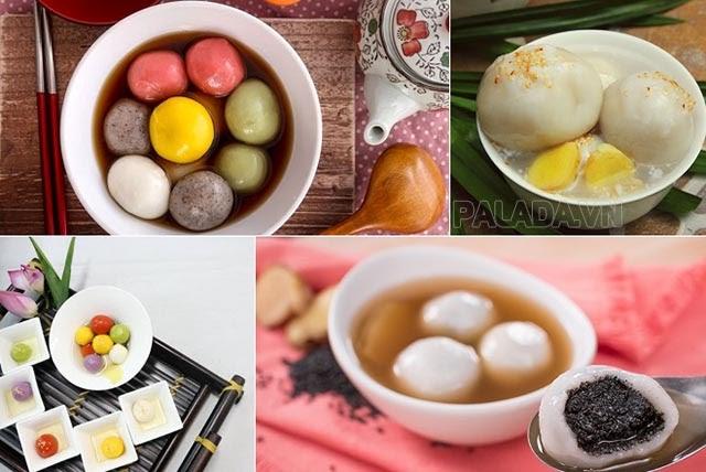 Phong tục ăn chè trôi nước của người Trung Quốc