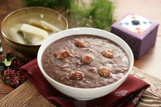 Món cháo đậu đỏ truyền thống của người Hàn