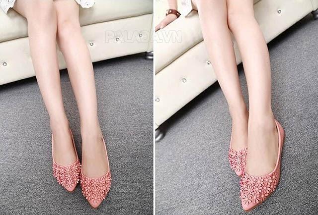 Giày mũi nhọn cho đôi chân thon dài