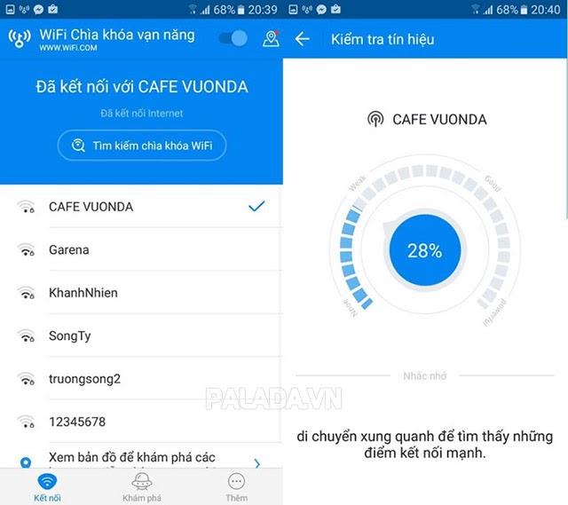 Wifi Chùa – Hướng dẫn sử dụng wifi không cần mật khẩu – Thiết bị vệ sinh công nghiệp Palada