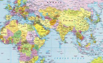 Trên thế giới có 204 nước