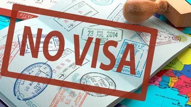 Miễn thị thực dành cho các quốc gia đã ký hiệp ước