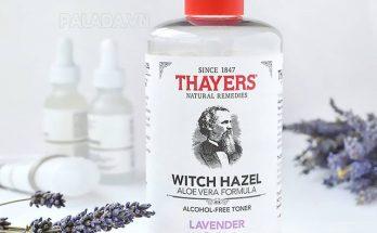 Toner Thayers có thành phần dịu nhẹ